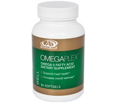 Advocare omegaplex omega 3 fatty acid dietary supplement for Fish oil and blood pressure